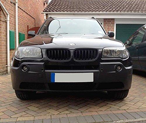 Matt Black Kidney Euro Sport Front Grill For BMW E83 X3 X 3 M Pre-Facelift SUV 04-06
