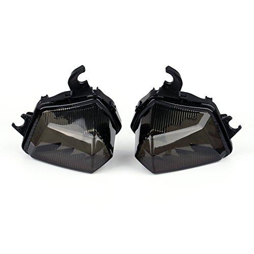 Areyourshop Front Turn Indicator Signal Light For Kawasaki Z1000SX 2011-2014 Smoke