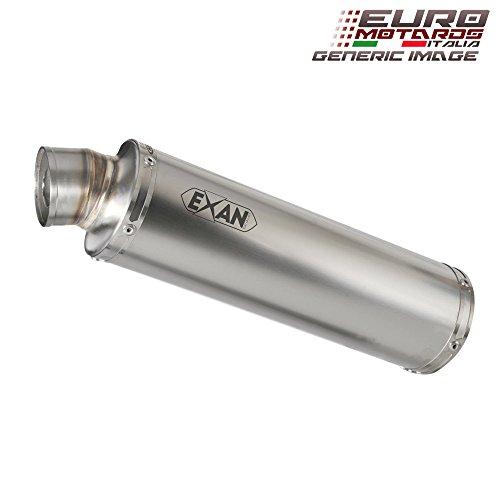 Kawasaki Z1000 2007-2009 Exan Exhaust Silencer X-GP Stainless Steel Dual x2 New