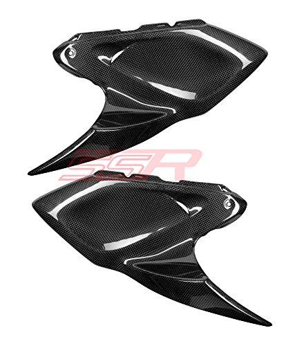 2014 2015 2016 14 15 16 Kawasaki Z1000 Carbon Fiber Fuel Tank Side Panel Cover Fairings