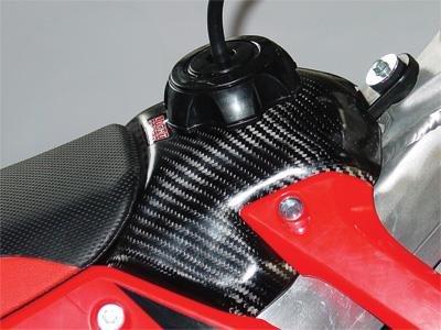 LightSpeed Carbon Fiber Fuel Tank Cover 083-00320