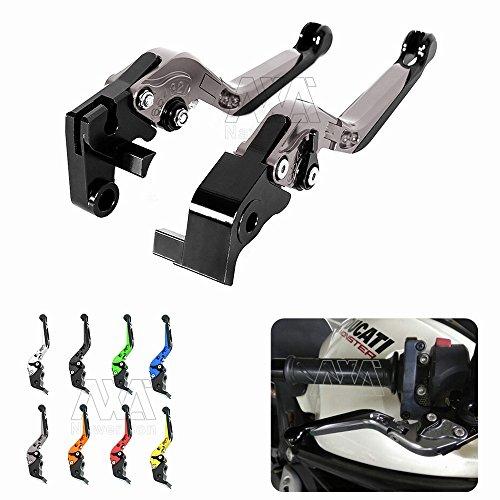 For Honda CBR1000RR  FIREBLADE 2004-2007 For Honda CB1000R 2008-2016 Motorcycle Accessories CNC Foldable Extendable Brake Clutch Levers Titanium