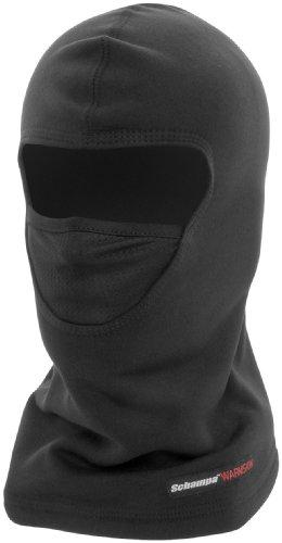 Schampa Warmskin X-mesh Breather Balaclava (black, One Size)