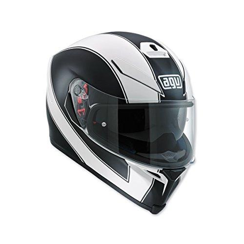 AGV K-5 S Enlace Matte White Full Face Helmet MS