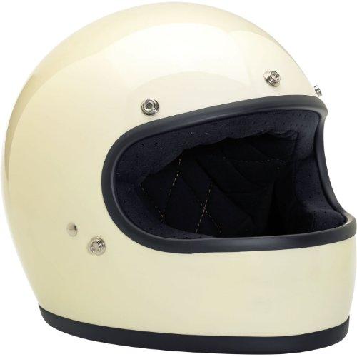 Biltwell Inc Gringo Vintage White Full Face Helmet 2XL