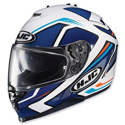 HJC IS-17 Spark BlueWhite Full Face Helmet S