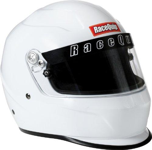 RaceQuip 284117 SA-2010 XX-Large White Full-Face Helmet