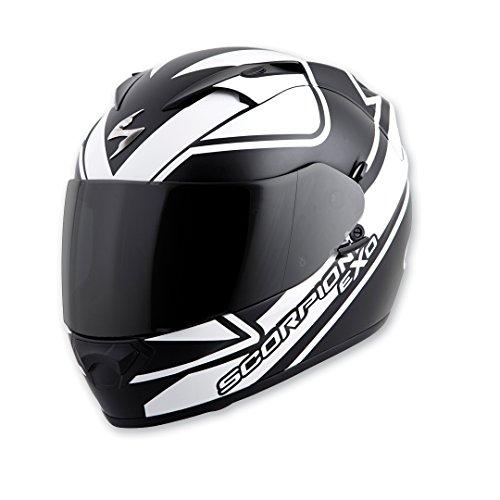 Scorpion EXO EXO-T1200 Freeway White Full Face Helmet L