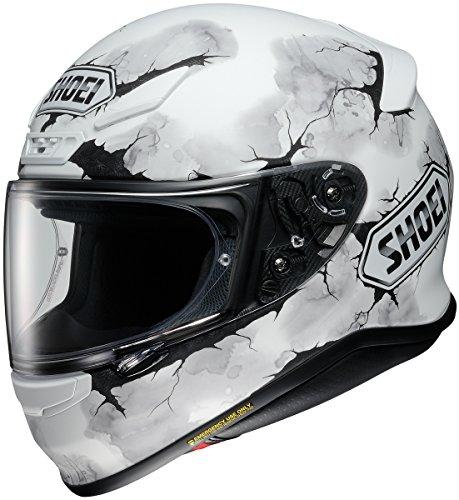Shoei RF-1200 Ruts White Full Face Helmet M
