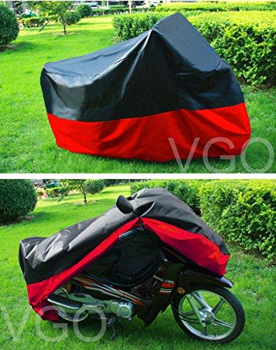 Motorcycle Cover For HONDA CBR 919 599 UV Dust Prevention L Black Red