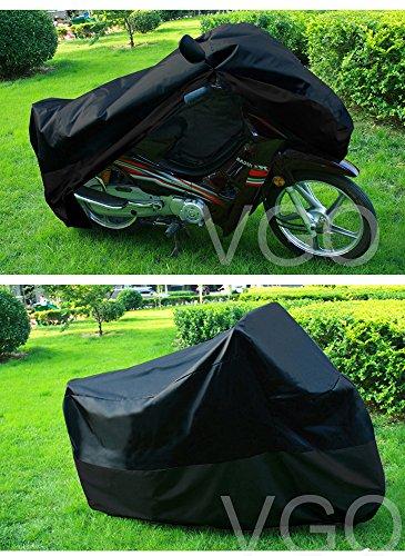 Motorcycle Cover For HONDA CBR 919 599 UV Dust Prevention L Black