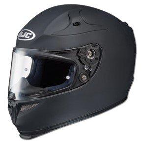 HJC RPS-10 Matte Black Full Face Helmet Snell 2010