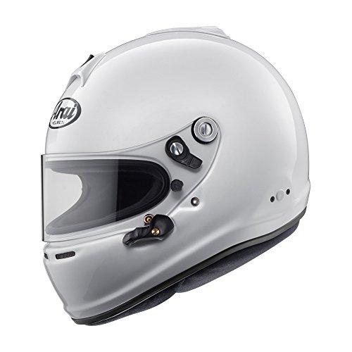 Arai Mens Full-Face-Helmet-Style GP-6S M6 SAH-2015 Helmet White X-Large