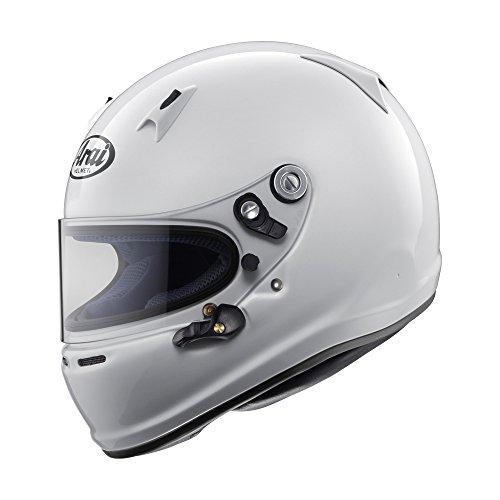 Arai Mens Full-Face-Helmet-Style SK-6 K-2015 Helmet White X-Small
