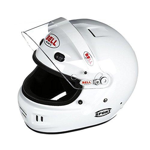 Bell Racing Mens Full Face Helmets Helmet Sport SA15 White Small
