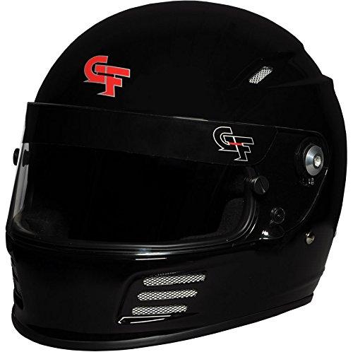 G-Force Mens Full-Face Helmet Black X-Large