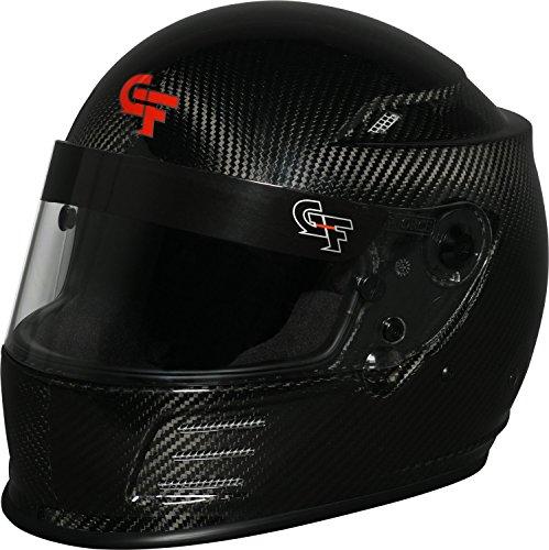 G-Force Mens Full-Face-Helmet-Style Revo Helmet Black Medium