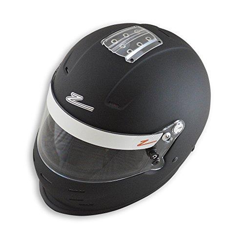 Zamp Mens Full-Face-Helmet-Style RZ-35 Helmet Black XX-Large