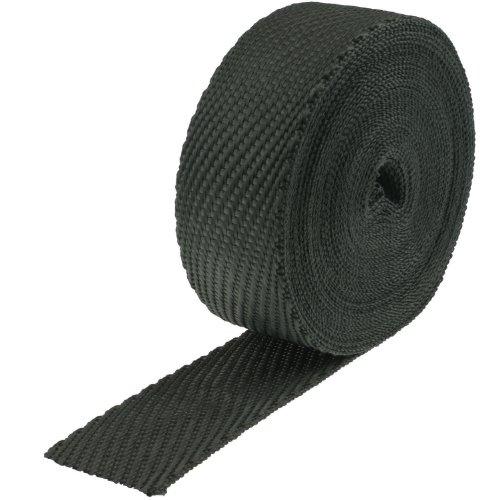 Heatshield Products 380013 Black 2 Wide x 50 Roll Cobra Skin Exhaust Wrap