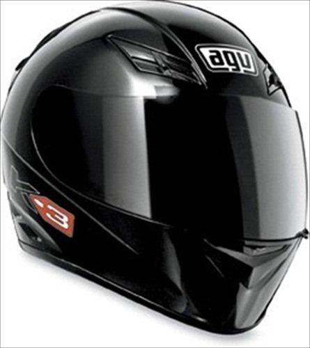 AGV K3 Full Face Motorcycle Helmet Matte Black Large
