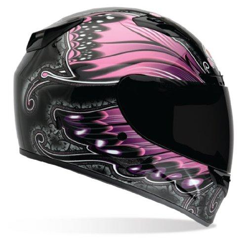 Bell Vortex Monarch Full Face Motorcycle Helmet - BlackPink X-Large