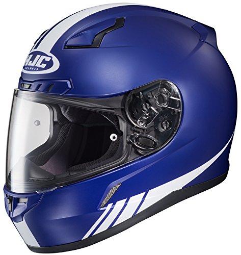 HJC CL-17 Streamline Full-Face Motorcycle Helmet MC-2F Large