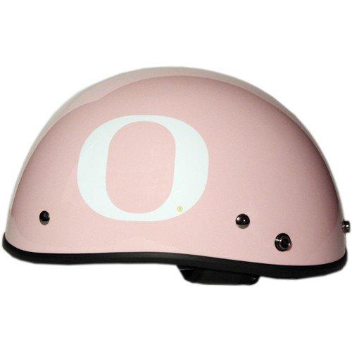 Fanrider Oregon Ducks Half Shell Motorcycle Helmet - Limited Edition - Extra Small- Pink