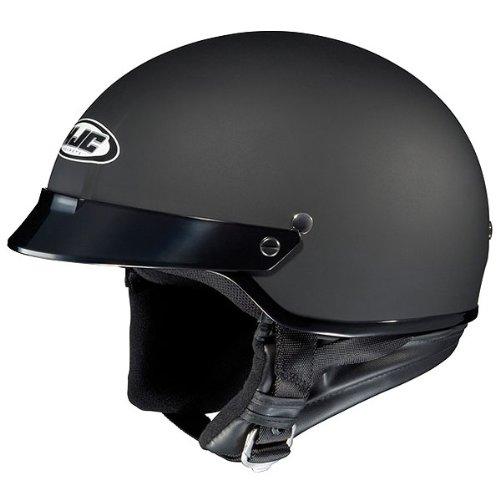 HJC Solid CS-2N Half 12 Shell Motorcycle Helmet - Flat Black  2X-Large