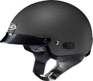 HJC Solid IS-2 Half 12 Shell Motorcycle Helmet - Matte Black  XX-Large