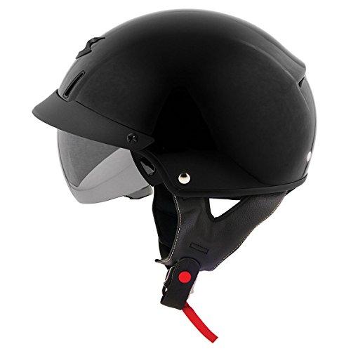 Scorpion EXO-C110 Black Half Helmet - Large