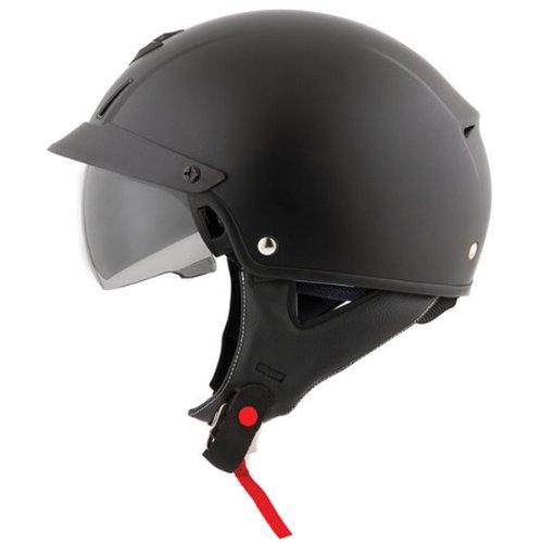 Scorpion EXO-C110 Matte Black Half Helmet - Small