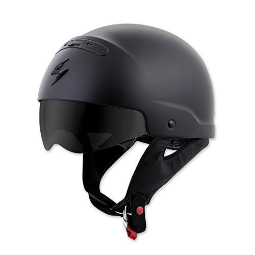 Scorpion EXO Covert Matte Black Half Helmet 2XL