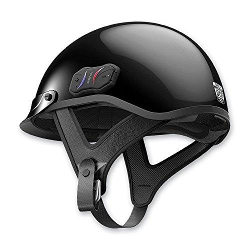Sena Technologies Cavalry Bluetooth Gloss Black Half Helmet XL