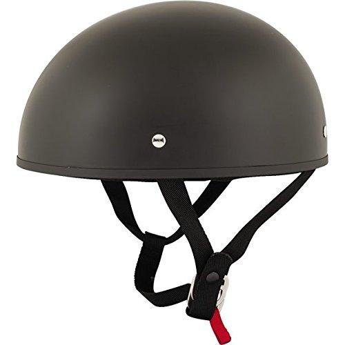 Speed and Strength SS210 Solid Speed Matte Black Half Helmet XL