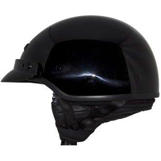 Zox Banos Gloss Black Half Helmet L