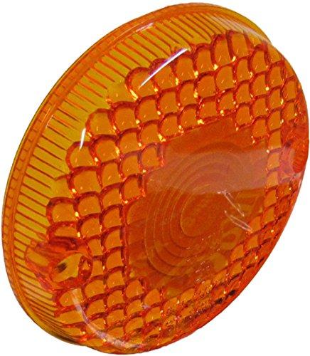 Kawasaki H1-E Indicator Lens Rear RH Amber 1974