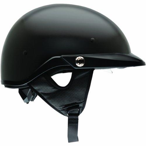 Bell Pit Boss Half Street Motorcycle Helmet - Matte BlackLarge