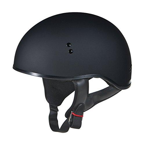 GMax GM45 Naked Matte Black Half Helmet - Medium