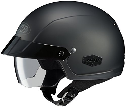 HJC IS-Cruiser Matte Black Half Helmet 2XL