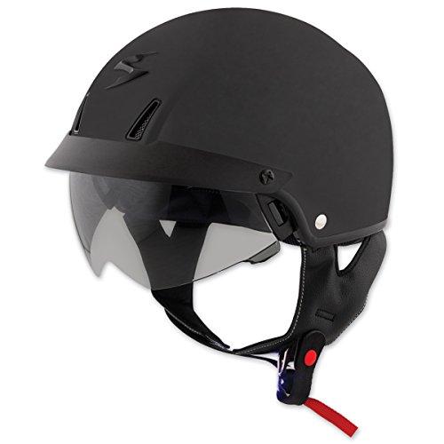 Scorpion EXO-C110 Matte Black Half Helmet XL