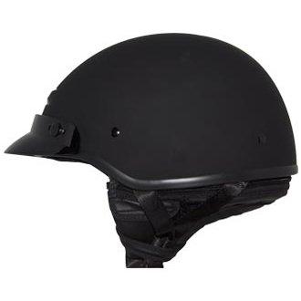 Zox Banos Matte Black Half Helmet S