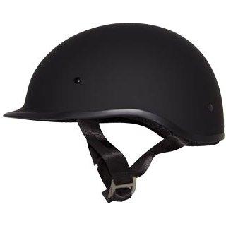 Zox Polo Sport Matte Black Half Helmet 2XL