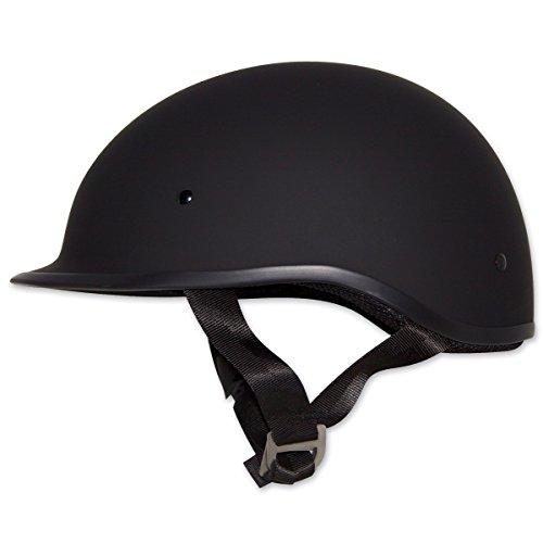 Zox Polo Sport Matte Black Half Helmet XL