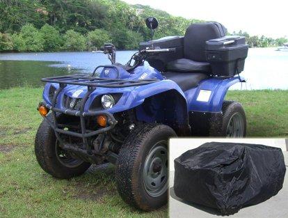 ATV Covers M Fits Kawasaki KFX 50-90 Honda TRX90X small ATV up to 65L x 40W x 40H
