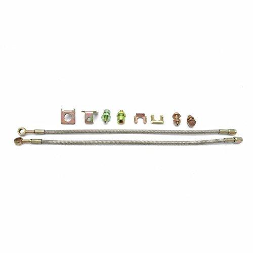 Helix 25744 10mm Stainless Steel Braided Brake Line Kit