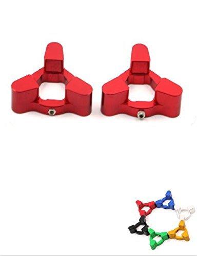 Fork Preload Adjusters CNC Aluminum Screw Cap For BMW S1000RR 10 HONDA CBR125 04-up SUZUKI TL1000R 98-03 TL1000S 97-01 YAMAHA R6 99-04 R6 06-07 17MM Red