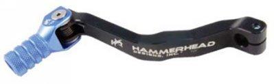 Hammerhead Designs Shifter Lever Kit with Knurled Shifter Tip OEM - BlackBlue YZ85SL0W BLKBLU