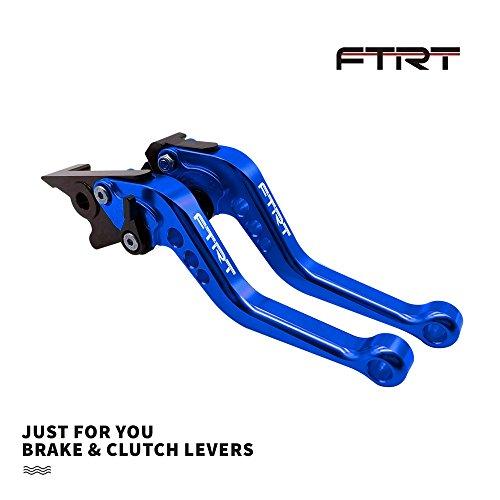 FTRT Adjustable Brake Clutch Levers for Suzuki GSXR750GSXR600 2006-2010Suzuki GSXR1000 2005-2006 GSXR 600 750 1000 Blue