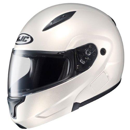 HJC CL-MAX II Pearl White Modular Helmet - Large
