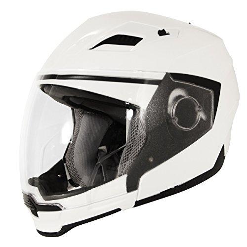 Hawk ST-553-13WG Evolution 2-IN-1 White Modular Helmet - X-Large